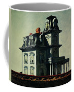 The House By The Railroad Coffee Mug
