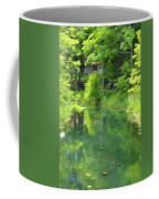 The House On The Bank Of The Lake Coffee Mug