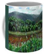 The House Through The Trees Looking Towards Glentenassig On Ireland's Wild Atlantic Way Coffee Mug