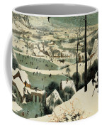 The Hunters In The Snow Coffee Mug