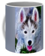 The Huskie Pup Coffee Mug by Bill Cannon