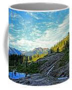 The Hut. Coffee Mug