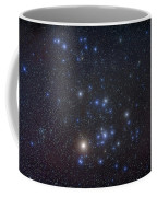 The Hyades Cluster With Aldebaran Coffee Mug