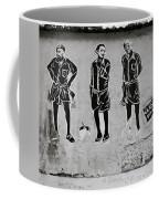 Homage To Banksy Coffee Mug