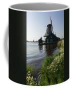 The Iconic Windmills Of  Holland  Coffee Mug