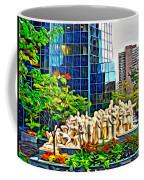 The Illuminated Crowd Of Montreal Coffee Mug