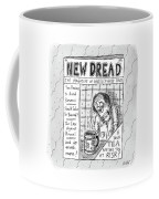 The Image Is The Front Cover Of New Dread: Coffee Mug
