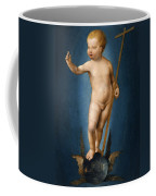 The Infant Christ On The Orb Of The World Coffee Mug