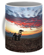 The Iron Horse Early Dawn The Iron Horse Collection Art Coffee Mug
