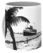 The Iroquois In Biscayne Bay Coffee Mug