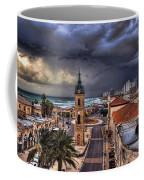 the Jaffa old clock tower Coffee Mug by Ronsho