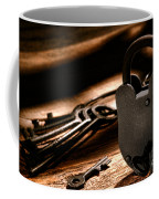 The Jailer Lock Coffee Mug by Olivier Le Queinec