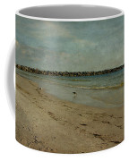 The Jetty Coffee Mug by Sandy Keeton