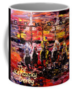 The Kentucky Derby - And They're Off Without Year  Coffee Mug