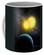 The Kepler 35 System Coffee Mug