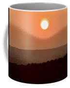The King's Sunset - Stunning Painting Like Photograph Coffee Mug