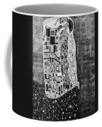 The Kiss Bw Coffee Mug