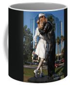 The Kiss - Sailor And Nurse - Sarasota  Coffee Mug