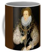 The Kitchener Portrait Of Queen Coffee Mug