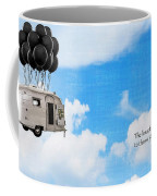 The Knack Of Flying Coffee Mug by Edward Fielding