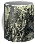 The Knight, Death And The Devil Coffee Mug