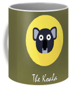 The Koala Cute Portrait Coffee Mug