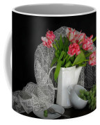 The Lace Veil  Coffee Mug by Diana Angstadt