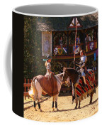 The Lady And The Knight Coffee Mug