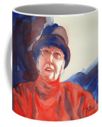The Lady In Red Coffee Mug by Kathy Braud