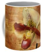 The Lady Slipper Orchid Coffee Mug