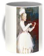 The Lady With The Violin Coffee Mug