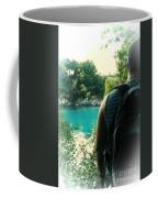 The Lagoon Coffee Mug by Jasna Buncic