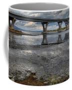 The Lake Champlain Bridge From Cown Point Coffee Mug