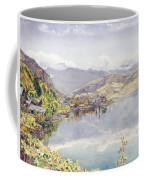 The Lake Of Lucerne, Mount Pilatus Coffee Mug