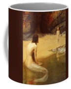 The Land Baby Coffee Mug by Philip Ralley