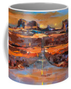 The Land Of Rock Towers Coffee Mug by Elise Palmigiani