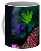 The Last Peacock Pop Art Coffee Mug