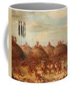 The Last Race. Mandan O-kee-pa Ceremony Coffee Mug