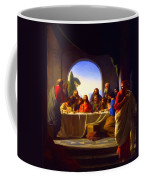 The Last Supper By Carl Heinrich Bloch Coffee Mug