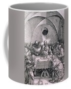The Last Supper From The 'great Passion' Series Coffee Mug by Albrecht Duerer