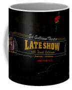 The Late Show  Coffee Mug