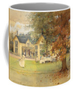 The Lawn Tennis Party Coffee Mug by Arthur Melville