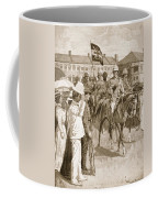 The Leader Of The Allies, Illustration Coffee Mug by Ernest Prater