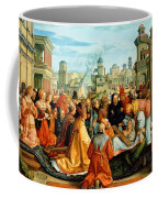 The Legend Of The Holy Cross Coffee Mug