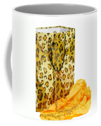The Leopard Gift Bag Coffee Mug by Diana Angstadt