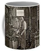 The Lesson Sepia Coffee Mug by Steve Harrington