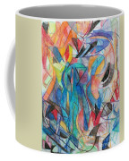 The Letter Kuf 2 Coffee Mug