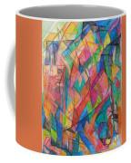 The Letter Shin 2 Coffee Mug