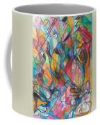 The Letter Yud 2 Coffee Mug