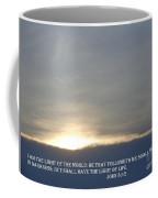 The Light Coffee Mug by Christina Verdgeline
